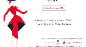 Moda, Fondazione Micol Fontana, Concorso per Giovani Creativi