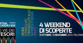 A Palermo l'evento Le Vie dei Tesori, 50 luoghi d'arte ad 1 euro