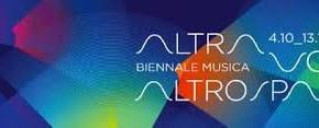 Altra voce Altro spazio. La musica contemporanea della Biennale di Venezia
