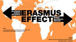 MaXXI Roma. In mostra l'architettura italiana migrante con l'evento Erasmus Effect