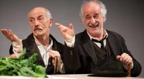 Le voci di dentro Peppe e Toni Servillo in scena al Teatro Argentina