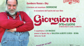 Libri, l'oste Giorgione presenta il suo primo libro