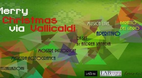 Merry Christmas in via Vallicaldi