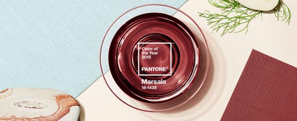 Sarà il Marsala (18-1438 ) il colore dell'anno 2015