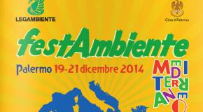 Palermo, ViEnergy a FestAmbiente Mediterraneo