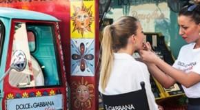 Dolce & Gabbana esportano il carretto siciliano a Milano