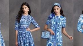 Moda estate, Dolce & Gabbana ispirati dalla ceramiche di Caltagirone