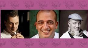 Gli chef Treno, Cuttaia e Ruta per la Notte Rosé 2015
