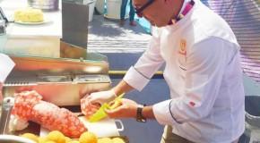 Expo 2015: l'arancino siciliano protagonista indiscusso al Cluster BioMed
