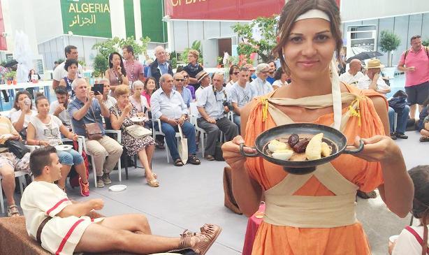 Yesnews il simposio all expo con piatti tipici della for Piatti tipici della cucina romana