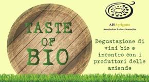 TASTE OF BIO: degustazione Vini biologici e biodinamici