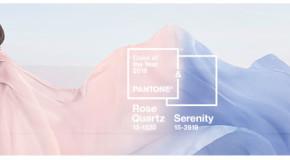 Pantone sceglie due tonalità come colore dell'anno 2016