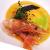 Ricette: Tortello con battuto al gamberetto rosso crudo e crema di crostacei