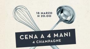Ragusa: 4 mani e 4 calici di champagne per una cena ai Banchi