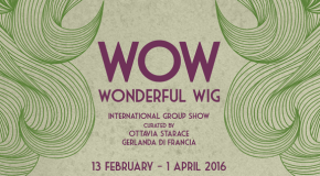 Roma, WoW_Wonderful Wig in mostra all'HulaHoop