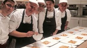 Quattro chef, otto mani e un elemento tipicamente siculo