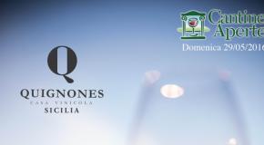 Cantine Aperte: le iniziative dell'azienda Quignones a Licata