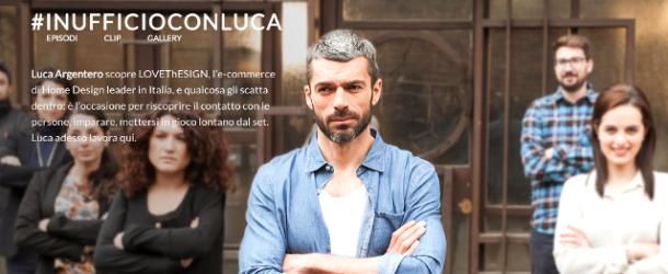 #inufficioconluca: alle prese con i colpi di genio di Luca Argentero