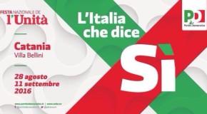 Catania, fino all'11 settembre la Festa de l'Unità