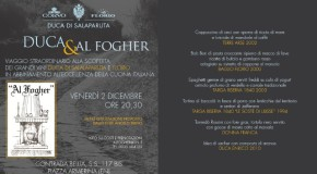 Duca & Florio Grand Tour fa tappa Al Fogher