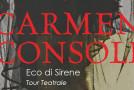 Musica, Carmen Consoli in tour nei teatri con Eco di sirene