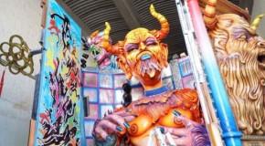 Acireale, tutto pronto per il Carnevale 2017