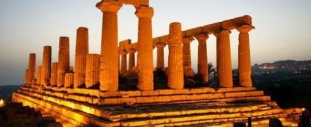 M'illumino di meno anche alla Valle dei Templi di Agrigento