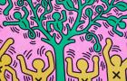 L'universo di Keith Haring in mostra a Milano