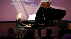 Musica, la pianista Gilda Buttà incanta Agrigento