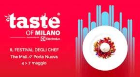 Taste of Milano, torna il Festival degli Chef