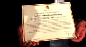 Imprenditorialità siciliana, la Regione premia Tomarchio