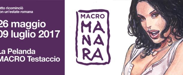 MACROMANARA: a Roma la grande mostra del maestro dell'Eros