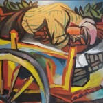 renato-guttuso-carrettiere-siciliano-addormentato-olio-su-carta-intelata-75-x-100-1946