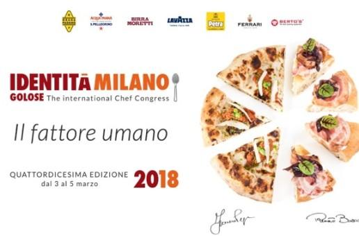 Milano, dal 3 al 5 marzo Identità Golose 2018