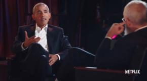 Netflix: David Letterman intervista Obama