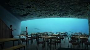 Il ristorante del futuro? É sott'acqua