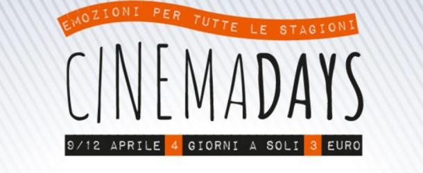 CinemaDays il cinema a 3 euro