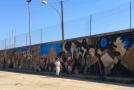 Street art a Montevago, quasi pronta l'opera che rievoca il sisma del Belìce e guarda al futuro (VIDEO)