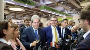 Vinitaly 2018, Gentiloni visita le aziende delle regioni terremotate